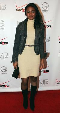 Tatyana Ali at the Mary J. Blige A Retrospective Of Incomparable Music.