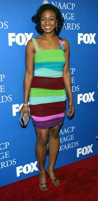 Tatyana Ali at the 34th Annual NAACP Image Awards.