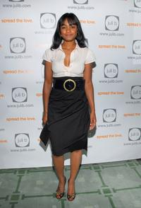 Tatyana Ali at the Juli B. celebration of