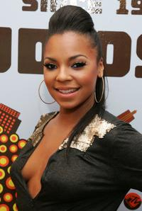 Ashanti at the taping of MTVs Sucker Free.