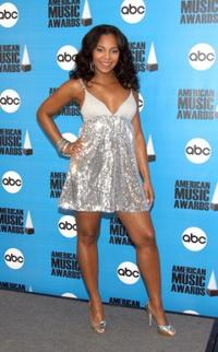 Ashanti at the 2007 American Music Awards Nominees announcements.
