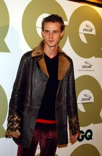 Eloy Azorin at the seventh Annual GQ fashion show party.