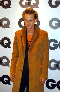 Eloy Azorin at the GQ Spring/Summer 2002 fashion show party.