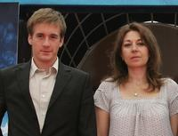 Gregoire Leprince-Ringuet and Valerie Benguigui at the premiere of