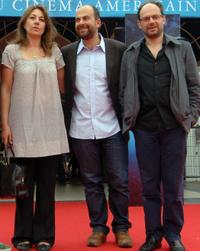 Valerie Benguigui, Marc Fitoussi and Denis Podalydes at the screening of