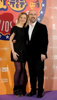 Pilar Castro and Javier Camara at the 18th Spanish Actors Guild Awards.