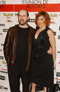 Javier Camara and Mariola Fuentes at the 12th edition of the Spanish Actors Union Awards.