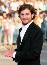 Guillaume Canet at the awards ceremony of the 32nd Deauville Festival Of American Film.