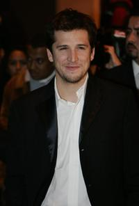 Guillaume Canet at the opening of the 4th Marrakesh International Film Festival.