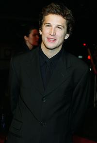 Guillaume Canet at the premiere of