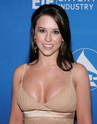 Lacey Chabert at the inaugural Grammy Jam Fest.