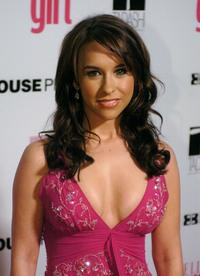 Lacey Chabert at the First Annual ELLEGIRL Hollywood Prom party.