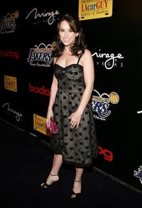 Lacey Chabert at the Los Angeles Lakers 3rd annual Mirage Las Vegas Casino Night and Bodog Celebrity Poker Invitational benefiting Los Angeles Lakers Youth Foundation.