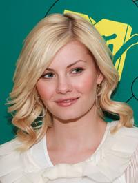 Elisha Cuthbert at the MTV's Total Request Live.