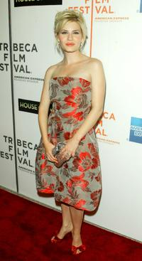 Elisha Cuthbert at the screening of