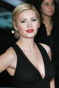Elisha Cuthbert at the 2007 Laureus World Sports Awards.