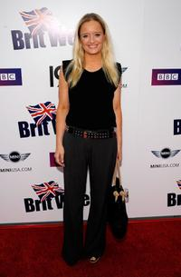 Lucy Davis at the Champagne Launch Of BritWeek 2009.