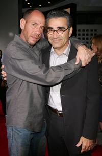 Miguel Ferrer and Eugene Levy at the premiere of