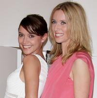 Emma de Caunes and Lea Drucker at the Cesar Film Awards 2008.