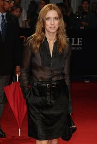 Lea Drucker at the screening of