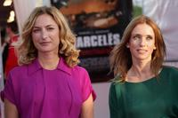 Zoe Cassavetes and Lea Drucker at the premiere of