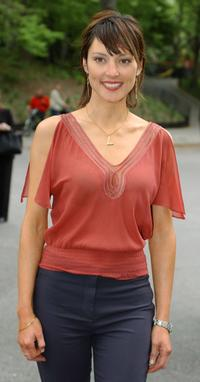 Lola Glaudini at the CBS Upfront Previews 2003-2004.