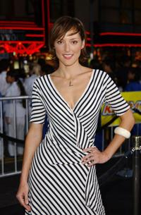 Lola Glaudini at the premiere of