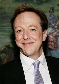 Edward Hibbert at the after party of the New York opening of