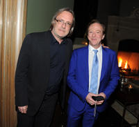 Nigel Cole and Edward Hibbert at the premiere of