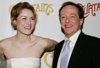 Jill Paice and Edward Hibbert at the after party of the New York opening of