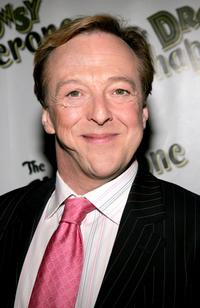 Edward Hibbert at the opening night of