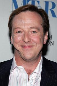 Edward Hibbert at the premiere of