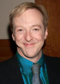 Edward Hibbert at the opening night party of