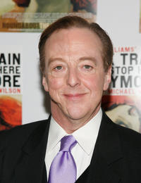 Edward Hibbert at the Broadway opening night of