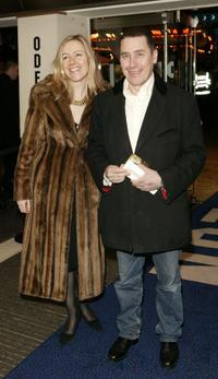 Jools Holland and Guest at the UK premiere of