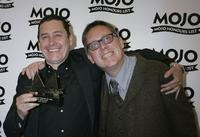 Jools Holland and Vic Reeves at the MOJO Honours List Awards.