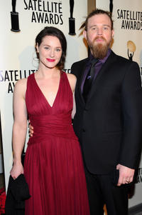 Molly Cookson and Ryan Hurst at the 16th Annual Satellite Awards in California.