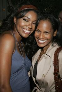 Gabrielle Union and Robinne Lee at an Evening of Beauty and Wellness.