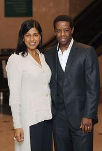 Adrian Lester and Guest at the Women In Film And TV Awards.