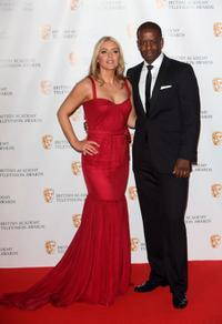 Patsy Kensit and Adrian Lester at the BAFTA Television Awards 2009.
