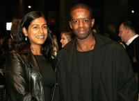 Adrian Lester and Guest at the Times London BFI Film Festival.