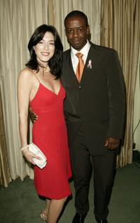Jaime Murray and Adrian Lester at the