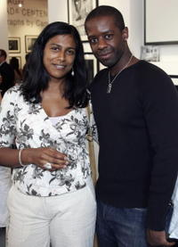 Lolita Chakrabarti and Adrian Lester at the