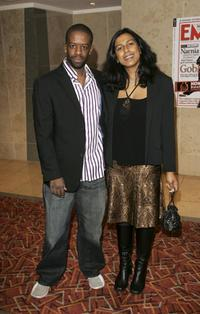 Adrian Lester and his wife Lolita Chakrabarti at the Sony Ericsson Empire Film Awards 2006.