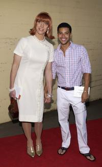 Clinton Leupp and Wilson Cruz at the Outfest 2004 Awards Night during the 22nd L.A. Gay and Lesbian Film Festival.