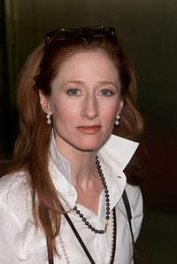 Vicki Lewis at the NBC upfront.