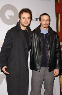Tristan Ulloa and Fele Martinez at the GQ Magazine Men of Year 2002 Awards.