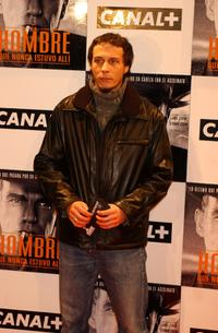 Fele Martinez at the Spanish premiere of