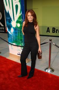 Dina Meyer at the WB Networks 2002 Summer Party.