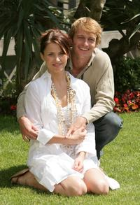 Tuva Novotny and Leo Gregory at the photocall of